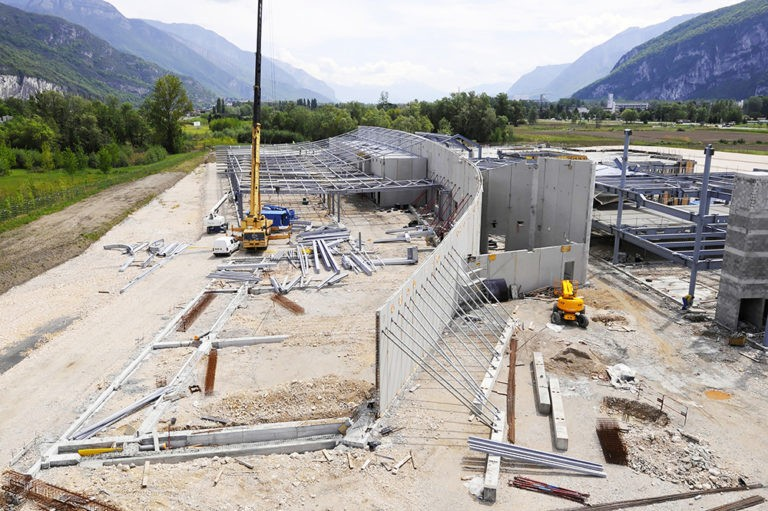 Construction neuve, siège social Rossignol.